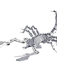 economico -Puzzle 3D Puzzle Modellini di metallo Giocattoli Con animale 3D Acciaio inossidabile Lega di metallo Acciaio Metallo Unisex Pezzi