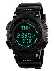 cheap -Skmei® Men's Outdoor Sports LED Digital Multifunction Compass Wrist Watch 50m Waterproof Assorted Colors