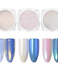 cheap -A Pearl Diamond Mirror Glitter Powder Neon Shell Powder 2g Magic Powder