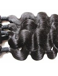 abordables -El pelo virginal virginal brasileño al por mayor de los paquetes 1kg el pelo humano sin procesar del estilo de la onda del cuerpo 10pcs