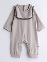 cheap -Baby Unisex Solid Colored One-Pieces