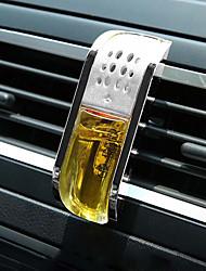 Parada de ar de carro Perfume de perfume Rcrystal Perfume de ar automotivo