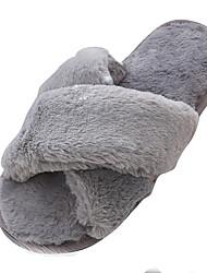 cheap -Women's Shoes PU Summer Comfort Sandals for Outdoor Black Gray Pink