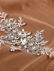 Недорогие -цветок горный хрусталь цветы зажим для волос головной убор классический женский стиль