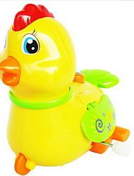 Недорогие -Игрушка с заводом Игрушки Цыпленок Животный принт Пластик Куски Универсальные Подарок