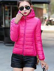 Hot! 10 Colors  Winter Women Parka Outerwear Duck Down Jacket With Large Fur Collar Plus Thickening Short Coat down jacket for girl