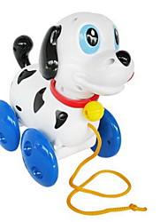 Недорогие -Игрушка с заводом Игрушки Собаки Животный принт Пластик Куски Универсальные Подарок