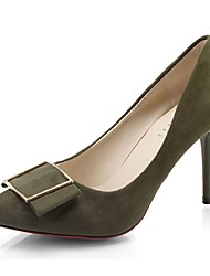 Da donna Tacchi Decolleté Estate Cashmere Formale A stiletto Nero Verde Rosa 7,5 - 9,5 cm