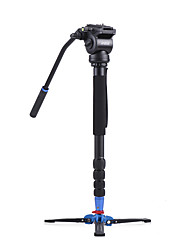 cheap -Andoer 172cm/67.7 Professional Photography Video Aluminum Alloy Monopod Unipod Camera Stand Support w/ Fluid Draft Hydraulic Damping Head Detachable