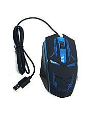 Wired Gaming Mouse Exquisite Appearance backlit usb Port black