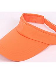 Unissex Chapéu Moderna Simples Poliéster Fibra Sintética Elastano Primavera/Outono Boné Chapéu de sol,Estampado Côr Pura