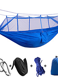 cheap -1 Camping Hammock with Mosquito Net Ultra Light (UL) Collapsible Nylon for Camping Camping / Hiking / Caving Outdoor
