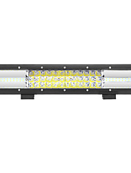 cheap -216W 21600lm 6000K LED White Combo 3-Rows Working Light for Car/Boat/Headlight   9v-32v