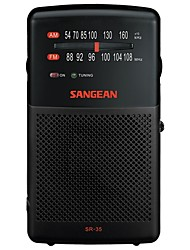 cheap -SR-35 DSP FM Portable Radio FM Radio / Built in out Speaker World Receiver Black