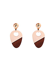 cheap -Women's Drop Earrings - Gold Plated Personalized, Basic, Fashion Gold For Wedding / Party / Graduation