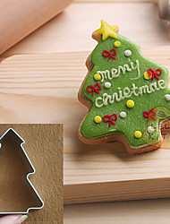 cheap -Christmas Cake Cookie Biscuit Baking MoldsChristmas Tree Shaped Cake Decorating Fondant Cutters Tools