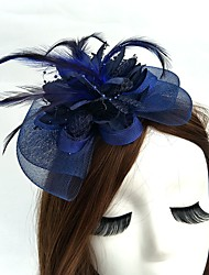 cheap -Net Fascinators Hats Birdcage Veils Headpiece Classical Feminine Style