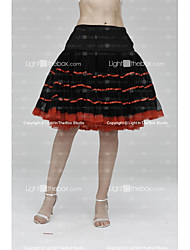 Slips Tulle Netting Knee-Length Skirts With Ribbon Tie Wedding Accessories