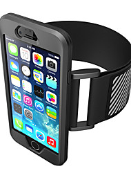cheap -Case For Apple iPhone 7 Plus iPhone 7 Armband Armband Solid Color Soft Silicone for iPhone 7 Plus iPhone 7 iPhone 6s Plus iPhone 6s