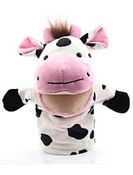 Недорогие -Пальцевые куклы Утка Лошадь Лев Овечья шерсть Зебра Cow Обезьяна Животные Милый Хлопковая ткань Взрослые Подарок