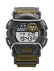 Men's Smart Watch Digital Rubber Band Black