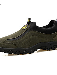 Hiking Shoes Mountaineer Shoes Men's Anti-Slip Rain-Proof Leisure Sports Low-Top Cowhide Latex Rubber Hiking