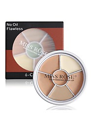 billige Concealer & kontur-4 farger Hudbalsam Concealer / Contour Tørr / Våt / Matt Concealer Ansikt Sminke kosmetisk