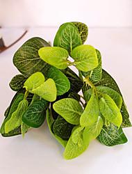 1 branche plantes en plastique de table fleur artificielle de fleurs de style frais