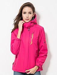cheap -LEIBINDI Women's Hiking Down Jacket Outdoor Winter Windproof Stretchy Winter Fleece Jacket Down Jacket Rain Proof Single Slider Waterproof