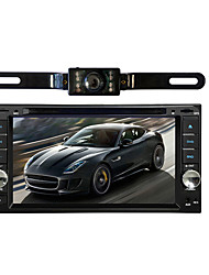 Car Radio audio 7'' inch LCD Touch screen Multimedia Video DVD player GPS Navigation BLUETOOTH Wireless Rearview Camera