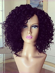 cheap -Human Hair Full Lace Wig Brazilian Hair Curly Layered Haircut With Baby Hair 130% Density Unprocessed 100% Virgin For Black Women Natural