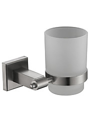 cheap -Soap Dish Toothbrush Holder Stainless Steel Nickel Brushed Wall Mounted