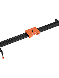 Andoer 60cm/23.6 All Metal Aluminum Alloy Video Track Slider Dolly Rail Stabilizer Max. Load 6kg for Canon Nikon Sony DSLR Cam Camera Camcoder