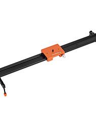 andoer 60cm / 23.6 tutto lega di alluminio metallo slider slider stabilizzatore binario max. carica 6kg per Canon Camcorder camma camma