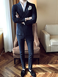 cheap -Men's Casual/Daily Work Casual Sexy Spring Fall Suit