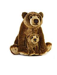 preiswerte -Teddybär Bär Kuscheltiere & Plüschtiere Tiere lieblich Handgemacht lebensecht Niedlich Tiere Kinder Geschenk