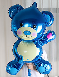 Oversized Bear Foil Balloons Birthday Party Wedding Marriage Room Decorated Wedding Dress Aluminum Balloons