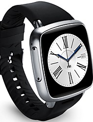 cheap -Smartwatch YYZ01PLUS for iOS / Android Heart Rate Monitor / GPS / Long Standby / Hands-Free Calls / Touch Screen Pulse Tracker / Stopwatch / Alarm Clock / Chronograph / Calendar / 1GB / Camera