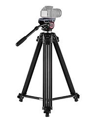 economico -andoer in lega di alluminio videocamera video treppiede panorama fluido idraulico testa a sfera per canon nikon sony