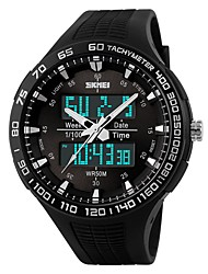 cheap -Skmei Brand Men LED Digital Watch Military Dive Swim Sports Watches Fashion Waterproof Outdoor Dress Wristwatches orologio uomo 1066
