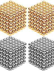 cheap -Magnet Toys Super Strong Rare-Earth Magnets Magnetic Balls Stress Relievers 216*4 Pieces 3mm Toys Metal Contemporary Classic & Timeless