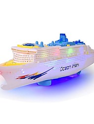 cheap -Water Toy Toy Boats Model Building Kits Boat Toys Ship Electric Simulation Plastics Children's Pieces