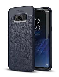 preiswerte -Hülle Für Samsung Galaxy S8 Plus S8 Stoßresistent Rückseite Volltonfarbe Weich Silikon für S8 Plus S8