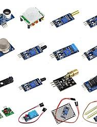 Недорогие -Набор из 16 модулей в 1 сенсорный модуль для малины pi