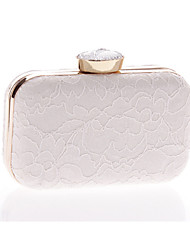 Women Bags All Seasons Polyester Evening Bag Lace for Wedding Event/Party White Black Almond