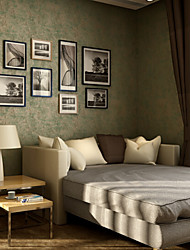 Print Wallpaper For Home Retro Wall Covering , Pure Paper Material Adhesive required Wallpaper , Room Wallcovering