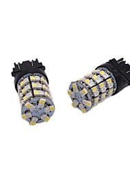cheap -2X High Bright Lightness 24W 1157 3157 7743 Dual Color LED Brake Bulb Turn Signal Multi-functional LED Bulb