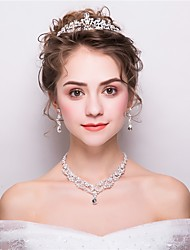 cheap -Women's Jewelry Set - Fashion Include White For Wedding / Evening Party