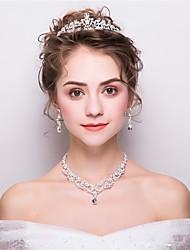 Недорогие -Жен. Комплект ювелирных изделий Мода Включают Белый Назначение Свадьба Для вечеринок