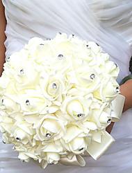 Недорогие -Свадебные цветы Букеты Свадебное белье 25 см
